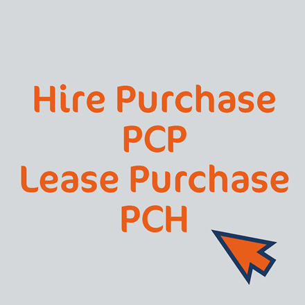 Hire Purchase, PCP, Lease Purchase, PCH