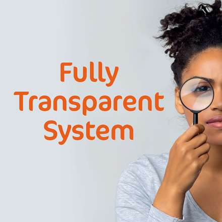 Fully Transparent System
